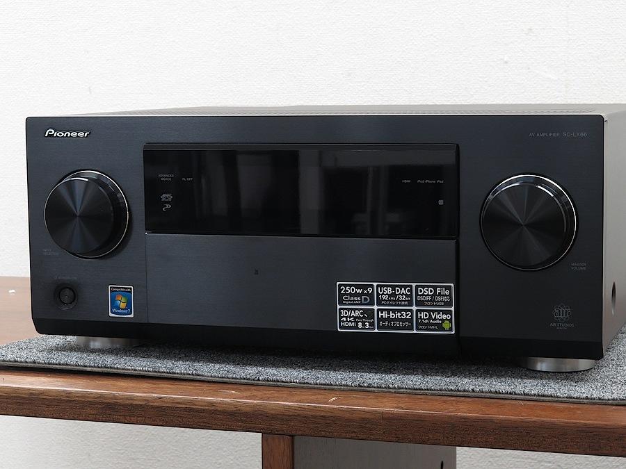 パイオニア Pioneer SC-LX86 AVアンプ 2012年製 元箱付 @37028 / 中古オーディオ買取 ...