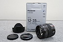 【美品】Panasonic LUMIX G X VARIO 12-35mm/F2.8 ASPH/POWER O.I.S. レンズ 元箱付 @49095