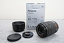 【美品】Panasonic LUMIX G X VARIO PZ 45-175mm F4.0-5.6 ASPH POWER O.I.S.レンズ 元箱付 @49097
